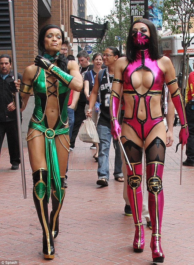 kombat Sexy costume mortal