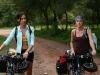odette-yustman-amber-heard-bikes