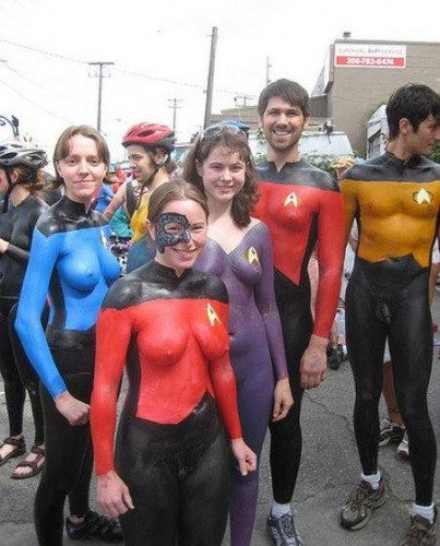 Breasts: The Final Frontier for Male Trekkies