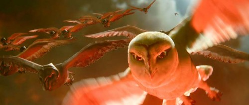 Nyra is an evil queen of the St. Aegolius Academy for Orphaned Owls. Voice by Helen Mirren.