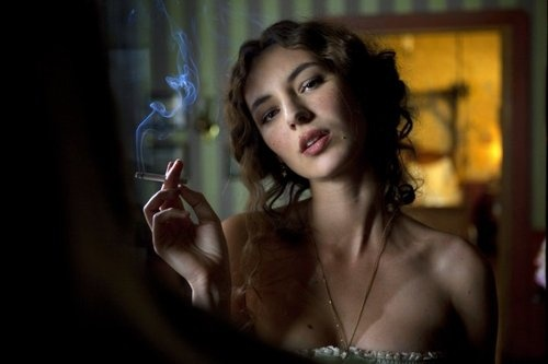 Louise Bourgoin was a weather-girl on Canal + in France.