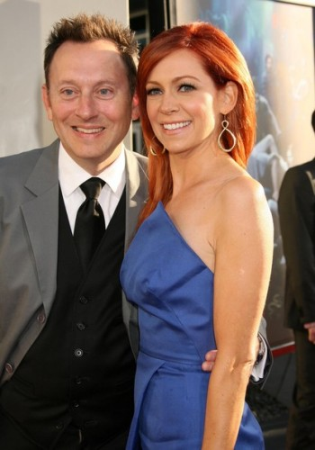Michael Emerson & wife Carrie Preston