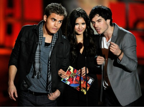 Guy Who Isn't Ian Somerhalder, Nina Dobrev, & Ian Somerhalder