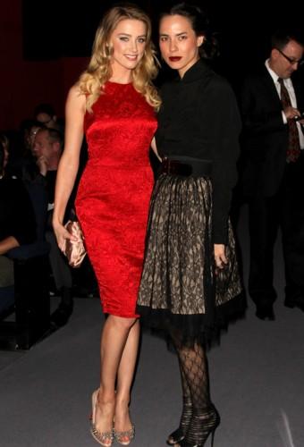 Amber Heard & Girlfriend Tasya van Ree