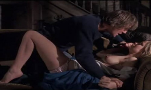 Susan George gets boned in controversial Straw Dogs scene