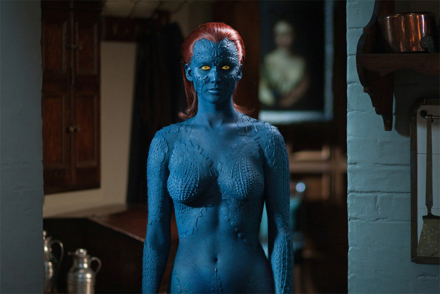 To See Sey Video Of Jennifer Lawrence Being Painted Go Here