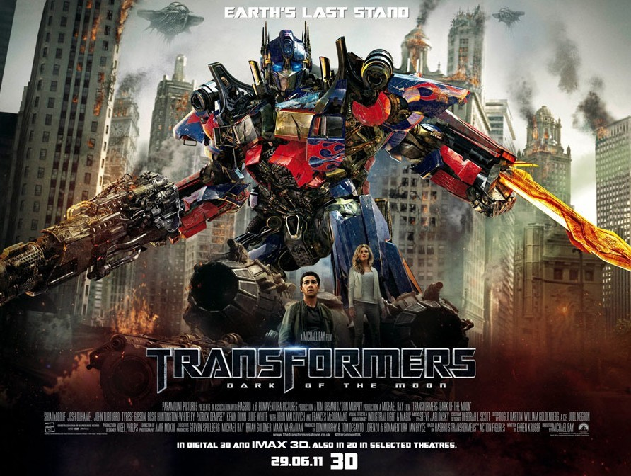 transformers dark of the moon poster. Transformers: Dark of the