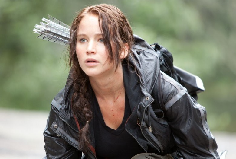 """... adaptation of author Suzanne Collins' young-adult series """"Hunger Games."""