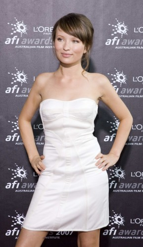 Emily-Browning-Sexy-Dress