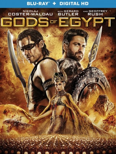 Gods of Egypt Blu-ray 3Dcover