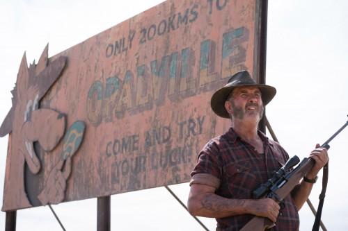 Episode 4 DSC04819 John Jarratt as Mick Taylor in WOLF CREEK.  A Screentime Production for STAN. Photo Matt Nettheim